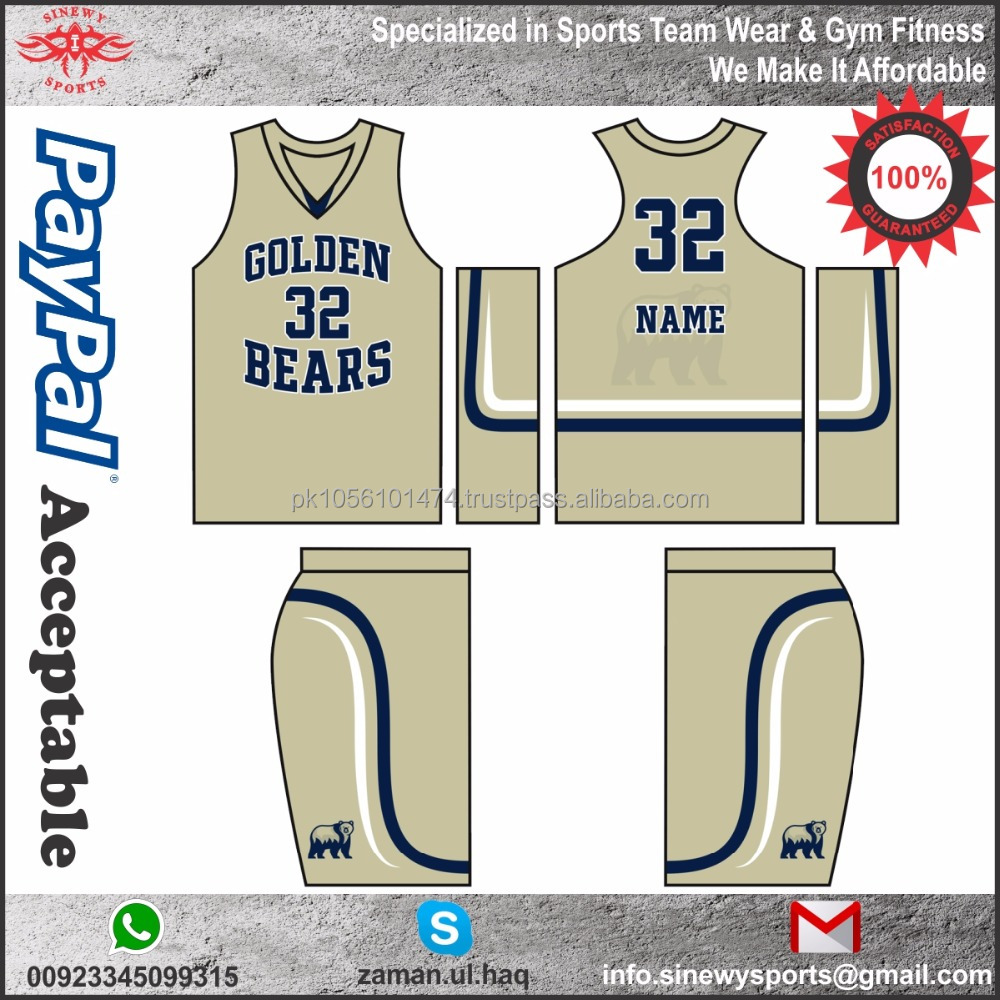 Top quality basketball jersey reversible mesh dry fit basketball jersey 2017 latest design custom basketball uniform