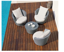Rattan Living Room Sofa Set Designs With Coffee Table And Chair.
