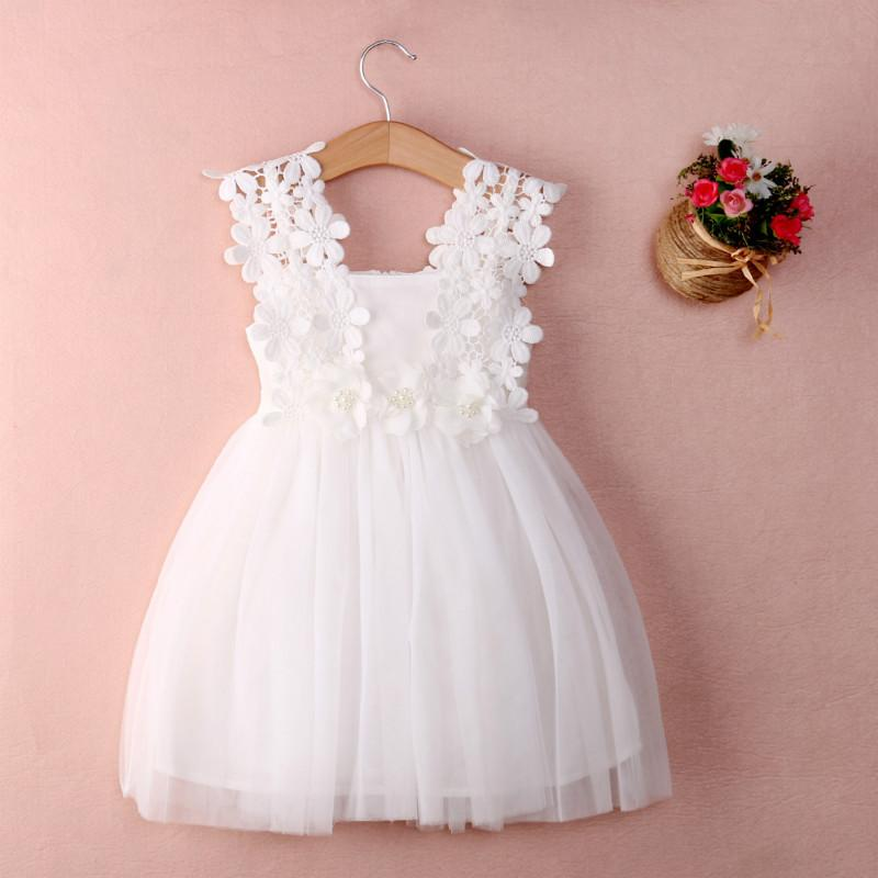127bcf47b851 2018 Newest Cotton 3-5 Years Old Girl Dress Baby Girl Summer Dress ...