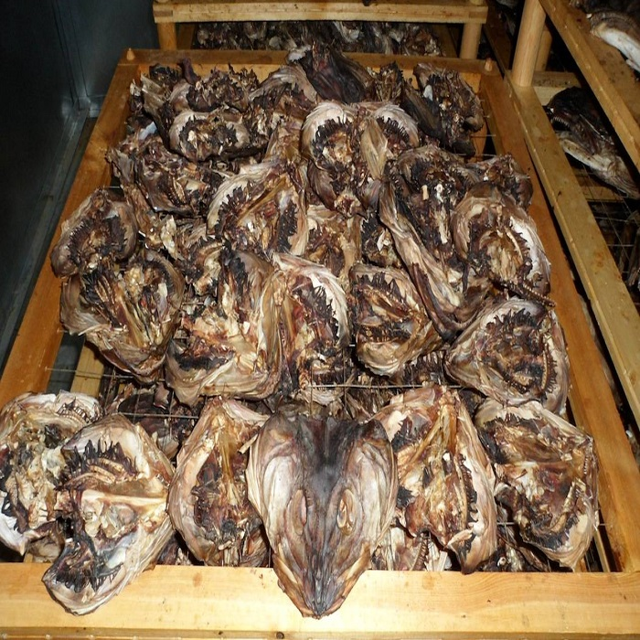 Dry Stock Fish Cod / Dry Stock Fish Head for Sale