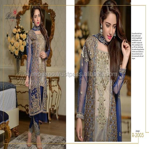 6b93754eb8 Wholesale punjabi suit / punjabi salwar suit long sleeves / punjabi suit  hand work