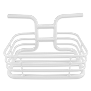 Aluminium Integral Forming Handlebar Basket of City bicycle/Fixed gear/Single speed bike with Product Patent-L/White