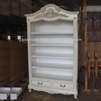 Antieke Boekenkast Mahonie.Antieke Witte Verf Mahonie Boekenkast Met Laden Buy Massief