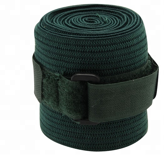 Hunter Green Elastische Stabiele Polo Bandages