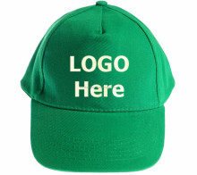 Quality Cheap Plain Baseball Caps Hat Blank Green Color with Logo Embroidery