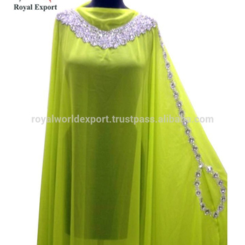 5bb12f7f5812 Wholesale cheap indian kaftan modern style designer kaftan direct from  factory chiffon Fabric Crystal work Gorgeous