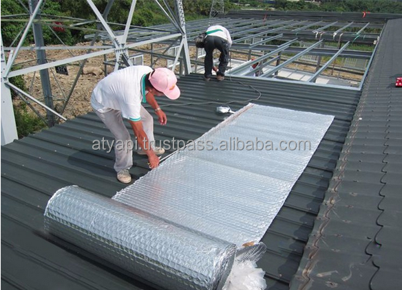 Heat or thermal Alu foil bubble insulation