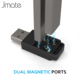 Wholesale Jmate Magnetic USB Dual Charger Electronic Cigarettes Accessory For Juul