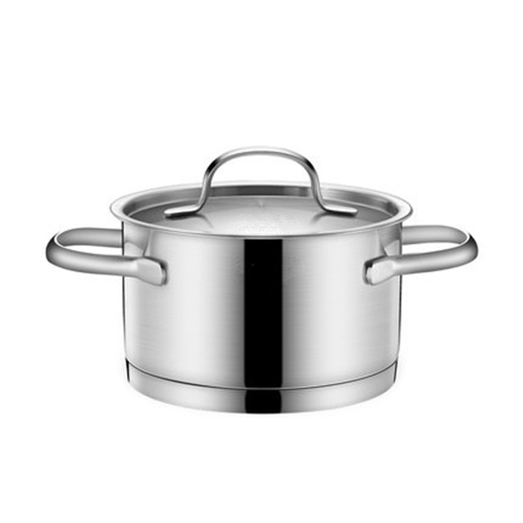 Versatile Professional Saucepan Stainless Steel Cooking Milk Boiling Pot 16cm