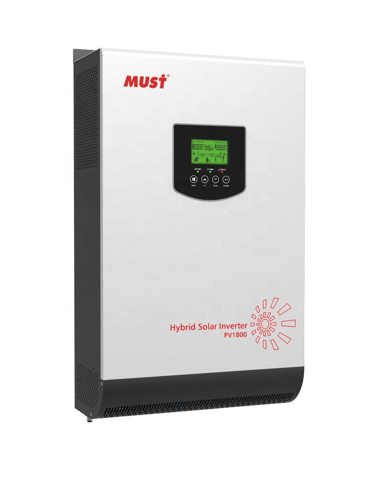 MUSS hybrid solar inverter PH1800 PLUS 3KW 24vdc auf off grid solar inverter parallel funktion