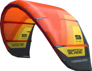2018 Cabrinha Switchblade 12 m kite - kite only Orange / Yellow kitesurf