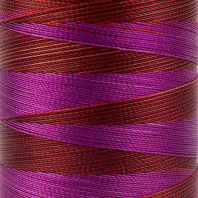 30wt Spring 2-ply Random Dyed Multi-Coloured Rayon WonderFil Specialty Threads Mirage 800m