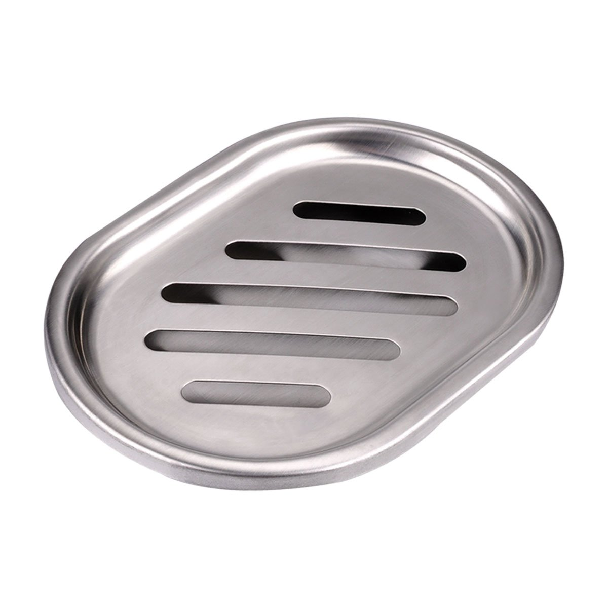 Double-deck Separable Stainless Steel Soap Dish, Soap Case Holder For Sponges, Scrubber, Soap