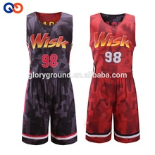 Sublimation shorts <span class=keywords><strong>Design</strong></span> Reversible <span class=keywords><strong>Basketball</strong></span> uniformen Jersey