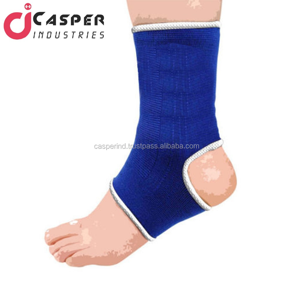 Muay Thai Ankle Supports Fitness MMA Compression Kick Boxing Wraps Pair