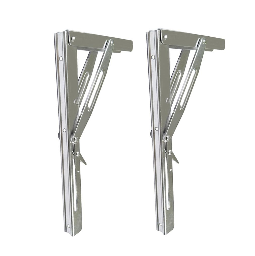 Boat Parts & Accessories Home Furnishing Heavy Duty Stainless Steel Shelf Bracket 11 Folding Table Seat Brackets 250kg Load