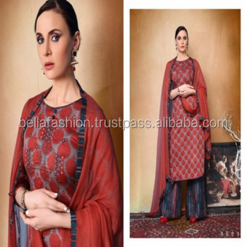 eee81149870fc Indian Summer Wear And Daily Formal Wear Palazzo Suits For Woman Wear - Buy  Indian Party Wear,Indian Ethnic Wear,Women Summer Cotton Suit Product on ...