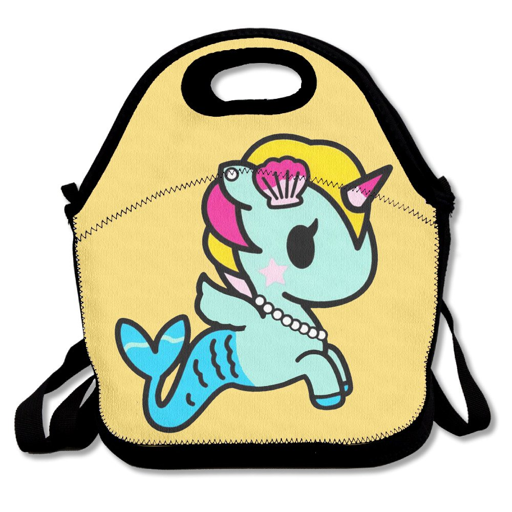 66fa4dcbd368 Get Quotations · Mermaid Unicorn Fashion Cute Lunch Bag Lunch Backpack  Casual Lunch Box Lunchboxes Lunch Pouch Durable Lunch