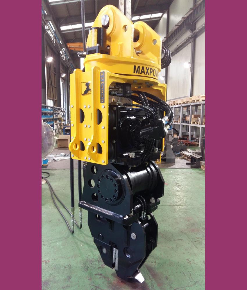 Made In Korea Best Hydraulic Vibro Hammer For Excavator