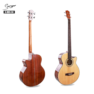 Good price 4 string guitar acoustic wood bass for sale