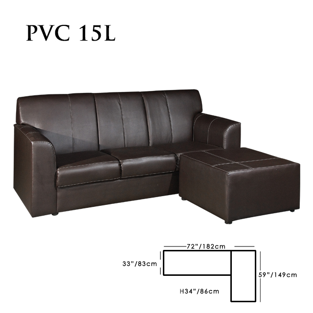 Black Color New L Shaped Sofa Designs