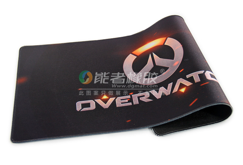 Customized different style natural rubber gaming mouse pad