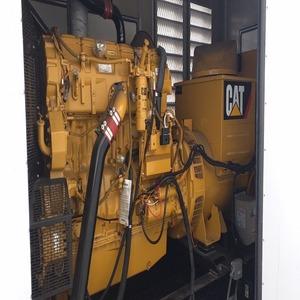 CAT Diesel Genset 407 KW 208V LC6, C15, Alum Encl, 2013,<120 Hrs! 1000gal  diesel