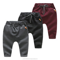 Cute Lovely Kids Boy Harem Pants Knitted Sport Casual Trouser