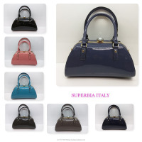 UK Wholesale Ready Stock High Quality Luxury Diamond Patent Pu Leather Women handbag