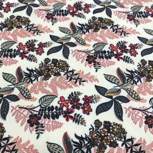 2018 Hot sell High Quality floral Custom Digital Printed Crepe Dress Fabric
