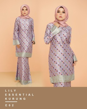 Oem Wholesales Latest Design Muslim Dress Baju Kebaya Modern Baju