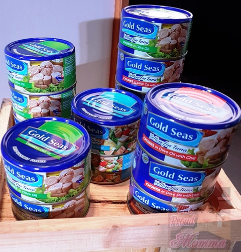 CENTURY and GOLD SEAS canned TUNA Chunks in Vegetable oil