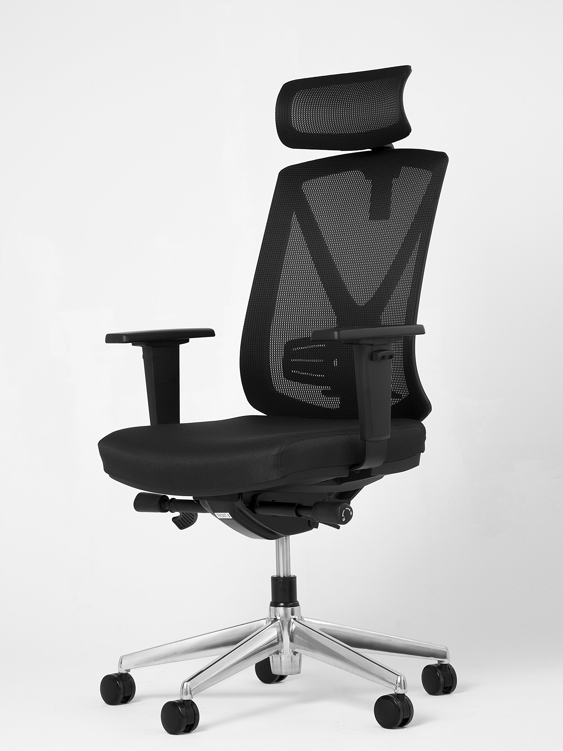 Office Factor Executive Chair, Office Mesh Chair, Desk Chair, Fully Adjustable Home Office Furniture, Ergonomic Seating for Professional Work Spaces, Office Chair