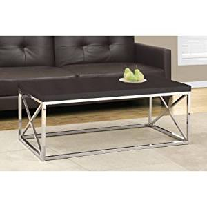 Get Quotations Coffee Table With Chrome Metal Home Furniture Living Room Modern Piece Tail