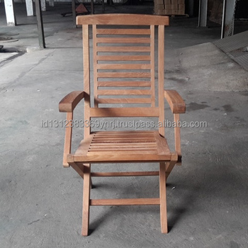 Classic Design Hanton Teak Wooden Outdoor Folding Armchair Made In Indonesia Buy Wooden Chair Folding Chair Outdoor Furniture Product On Alibaba Com