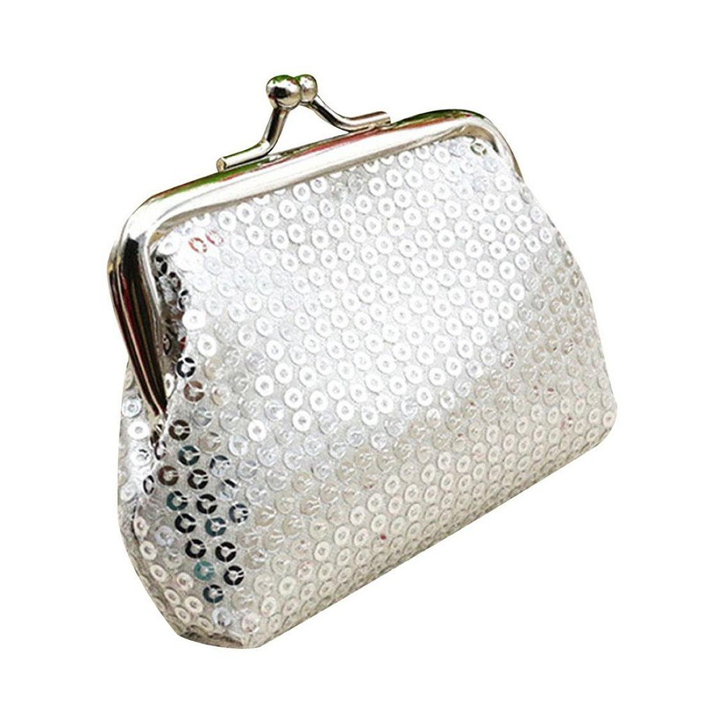 9082c5be10 Get Quotations · morecome Small Sequin Wallet