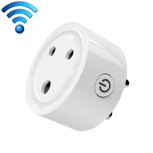 10A Mini Smart WiFi Socket South Africa Plug Remote Control Timer Switch Electrical Power Adapter with Alexa