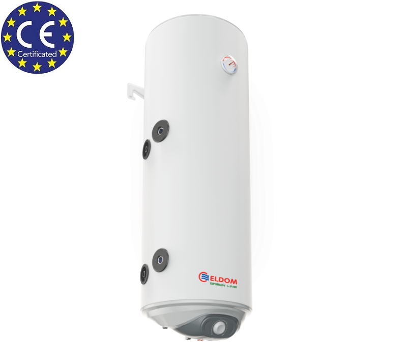 Water Heater With One Heat Exchanger Coil Eldom 80 l, 3 kW Vertical