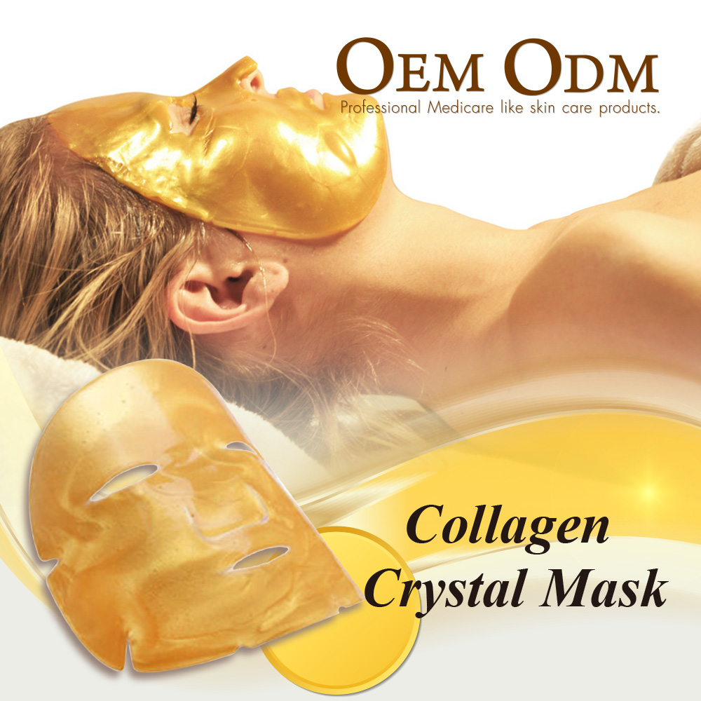 Masque facial en cristal Bio Collagène Or 24 carats