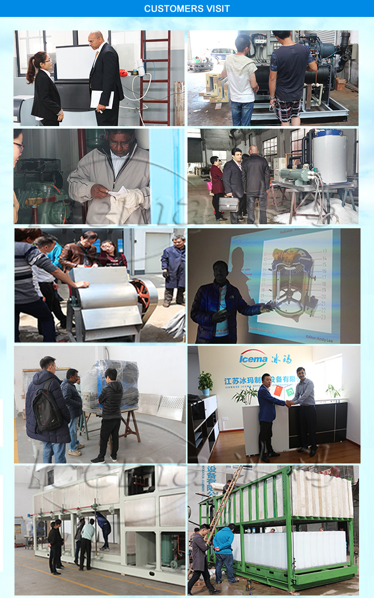 10T excellent ICEMA Commercial Ice Tube Maker