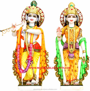Indian Radha Krishna Exclusive Marble Murti