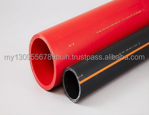 HDPE FIBER CABLE IN CONDUIT PIPE compiled with various standard (ISO, MS, BS, & JIS)