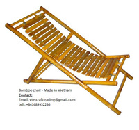 Bamboo chair made in Vietnam cheap price for outdoor or living room