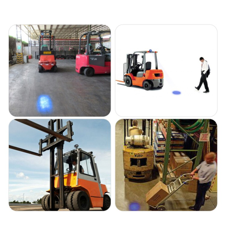 Hotsale Led Blue Spot Forklift Light Safety Warning Lamp