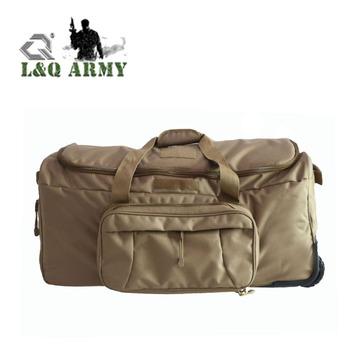 Army Duffle Bag Wheeled Trolley Bag Large Deployment Luggage