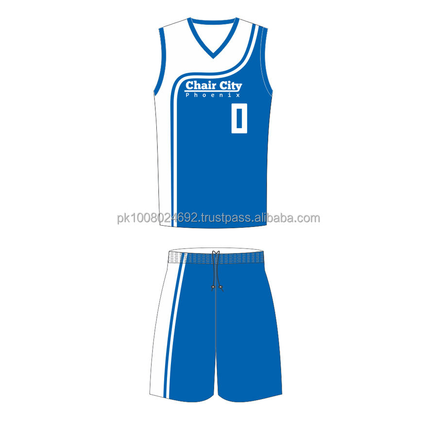 2019 Custom mens Womens Basketball Uniformen Sublimation basketball trikots shorts