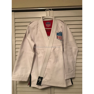 Best quality wholesale custom embroidery patches bjj gi jiu jitsu uniform bjj kimono/bjj gi USAJJA