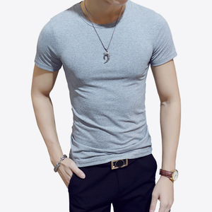 High Quality Print Your Logo Cotton Custom Men T Shirt