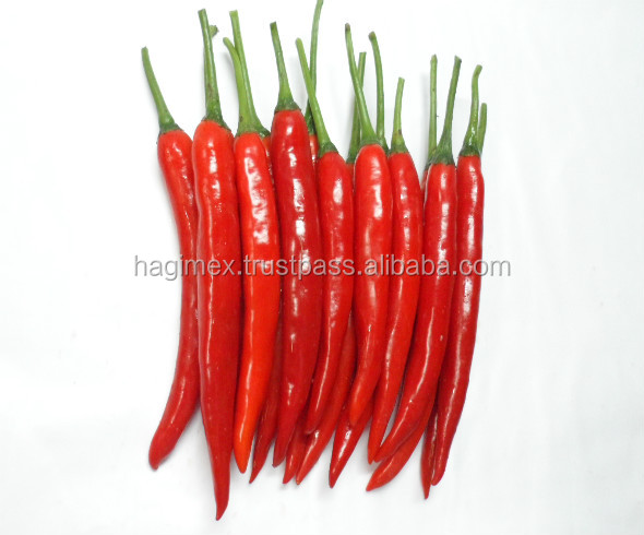 WHOLE RED CHILI 4-7 CM PEPPER IN ACETIC ACID SOLUTION