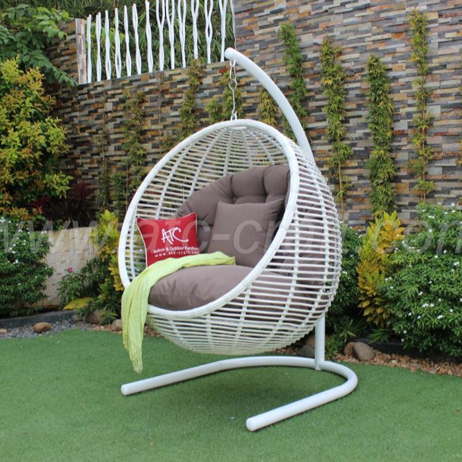 Synthetic Rattan Hammock Swing Chair